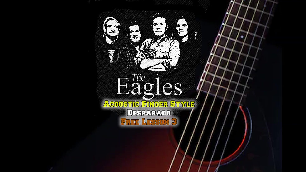 The Eagles Desparado Lesson 3