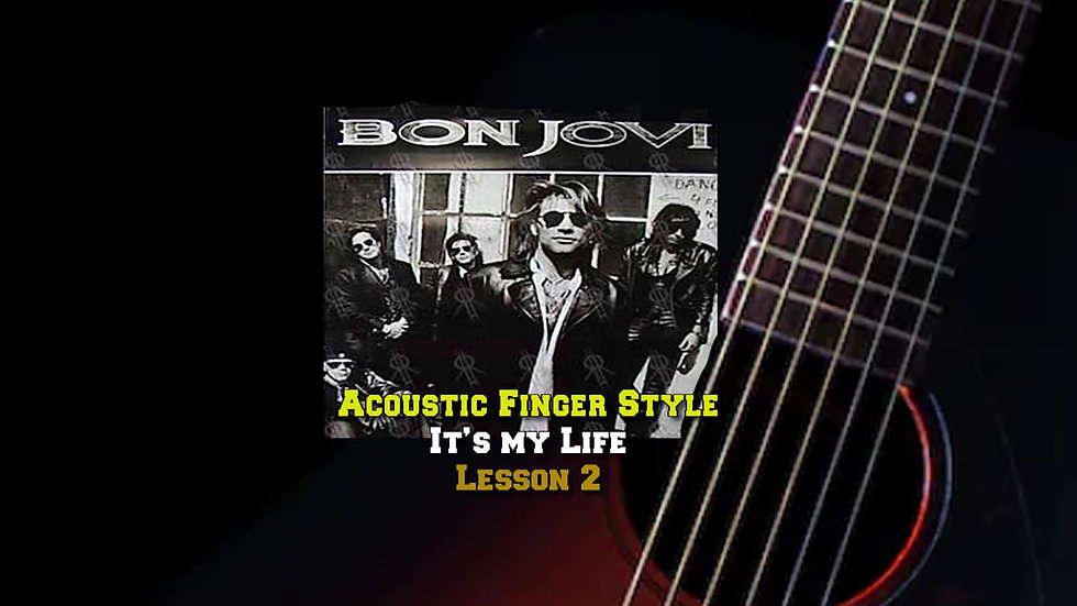 Bon Jovi's It's my Life Lesson 2