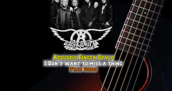 Aerosmith I Don't want to MISS ONE THING