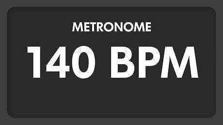 140 BPM   Metronome