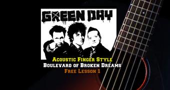 Green Day's Boulevard of Broken Dreams Lesson1