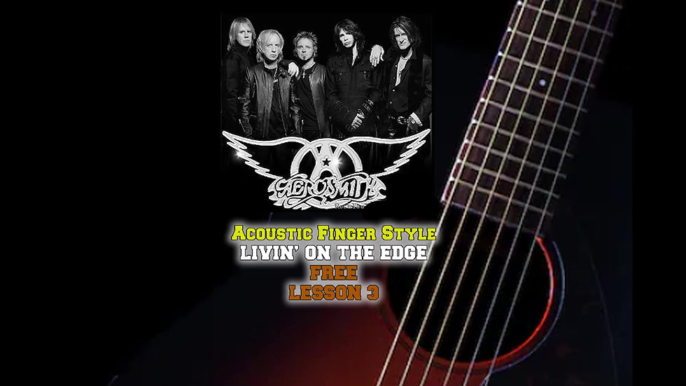 AeroSmith Living On The Edge Lesson3