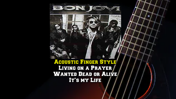 Bon Jovi Acoustic Finger Style