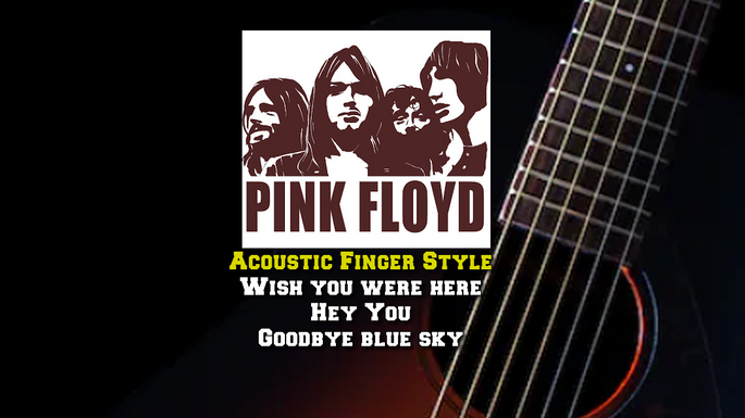Pink Floyd Acoustic Finger Style