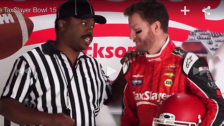 ESPN Taxslayer.com Gator Bowl with NASCAR's Dale Earnhart JR
