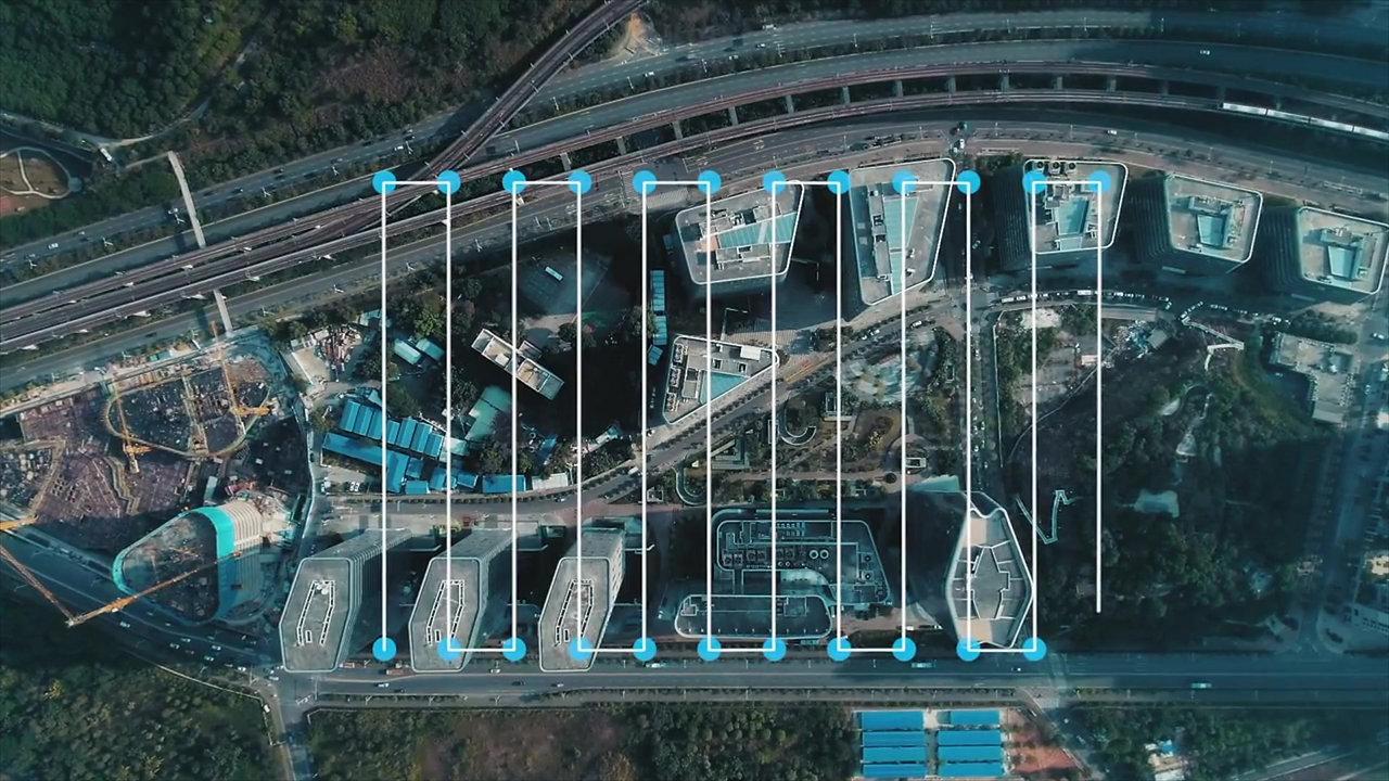 Eksempel på 3D mapping og inspeksjon med drone