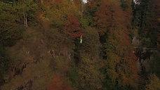 Luftaufnahme Highline / Slackline Vorarlberg