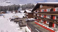 Luftaufnahme Hotel - Sonnenburg Lech - Arlberg / Vorarlberg