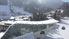 Drohnen Luftaufnahme St. Anton Tirol