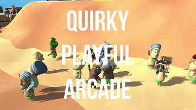 Quirky Playful Arcade