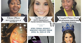 North Carolina Domestic Violence Rally 2020 Sexual AssaultCovid 19 Forum