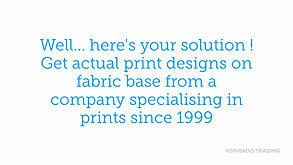How to choose prints design for your fashion collection ?