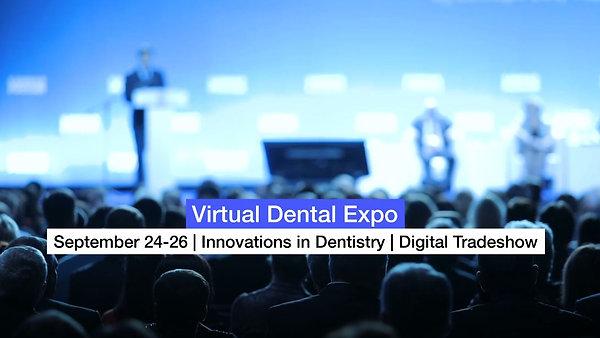 Virtual Dental Expo Sept. 24-26