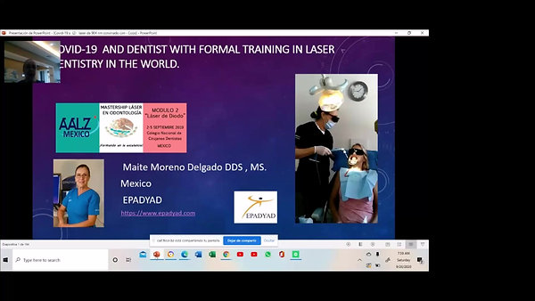 Confronting COVID19: Dentists With Formal Training in Laser Dentistry Worldwide