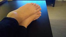 Joy's Valentines Day Foot Rub