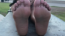 Meeting Bianca's Feet On Her Dog Walk