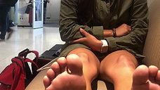 Karina's 19yo Freshman Feet Interview