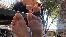 18yo Freshman Louise Shows Her Teen Feet