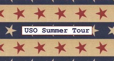 USO Summer Tour: Part 1
