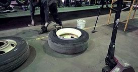 Replace Semi Tire