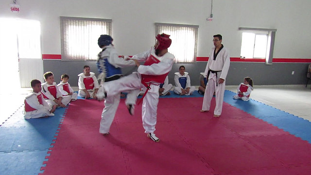 Fight TKD Red Cross Demonstration