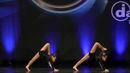 Allied at Dancers inc, Petite Acro duet