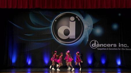 Allied at Dancers inc, Minis team, Hip-Hop