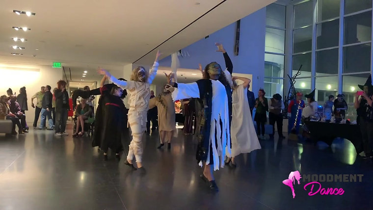 Halloween Flash Mob at the Crocker Art Museum