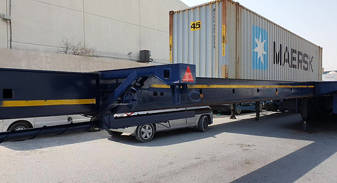 36 meter extendable trailer