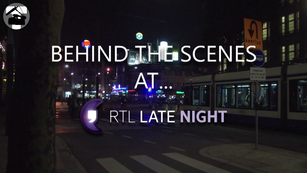 Behind the scenes at RTL Late Night
