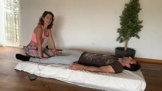 Thai massage tutorial (Hebrew)