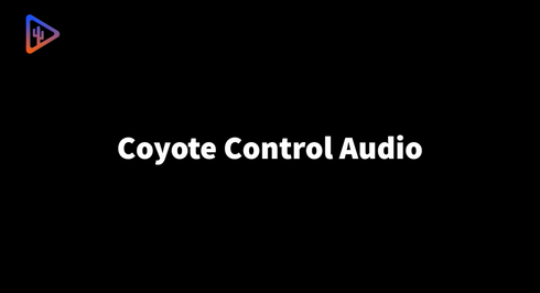 Coyote Control Audio