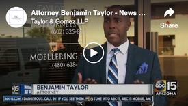 Attorney Benjamin Taylor News Clips