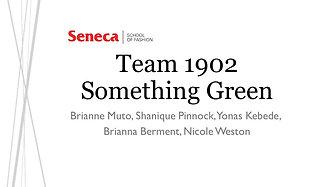 Team 1902: Something Green