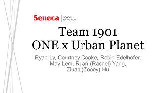 Team 1901: ONE x Urban Planet