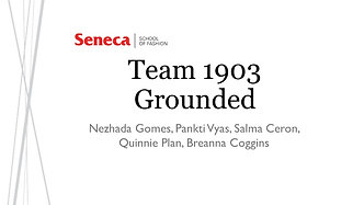 Team 1903: Grounded
