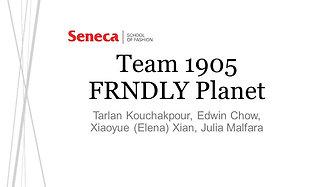 Team 1905: FRNDLY Planet