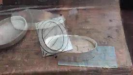 making an oval locket