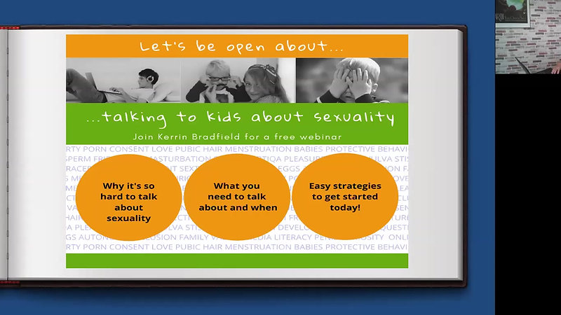 Free Webinar- Talking to kids about sexuality