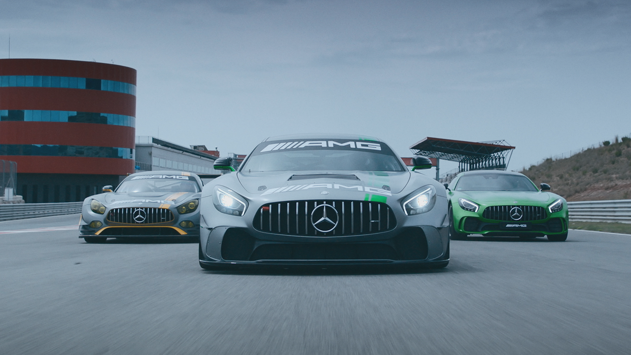 Mercedes-AMG GT4 Launch Campaign [Director's Cut]