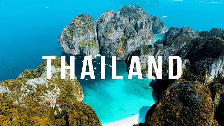 The Beauty of Thailand - Drohne 4K