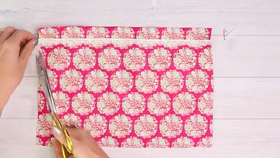 Easy French Seam Pillow Case