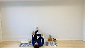 Abendsequenz I Yoga für Schwangere I 30 min