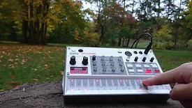 Korg Volca Sample 2 | Autumn ambient jam in the park in Berlin