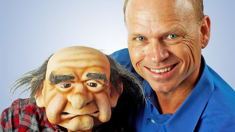 Ventriloquist Greg Claassen