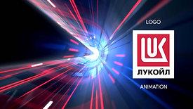 Анимация логотипа ПАО «Лукойл»