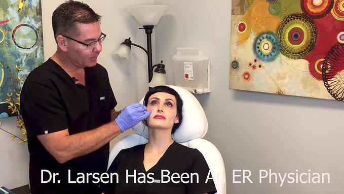 Dr Larsen Demos Under Eye Filler