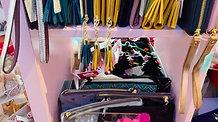 Scarves, bags & purses
