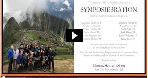 ART 367 Inca Art and Architecture Symposium