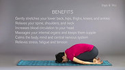 Beginners Yoga: How to do Balasana- Child's Pose
